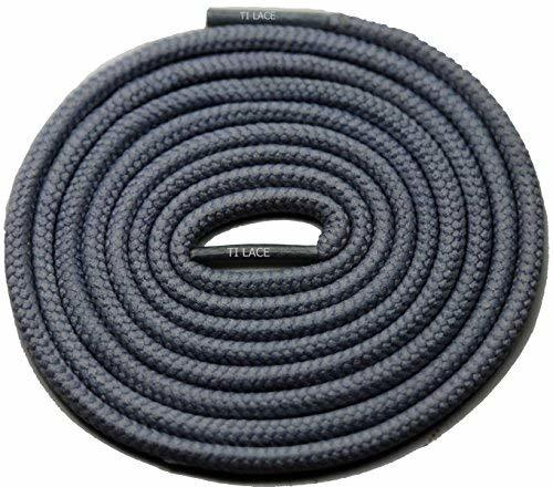"Primary image for 54"" Dark Grey 3/16 Round Thick Shoelace For All Shoes"