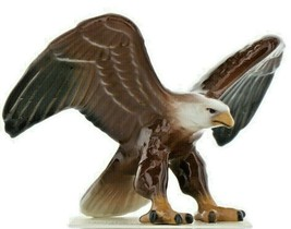 Hagen Renaker Miniature Bird Eagle Ceramic Figurine image 1