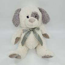 "14"" Best Made Toys Puppy Dog Cream Gray Chevron Soft No Beans Plush  B223 - $24.99"