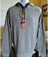 NCAA Iowa Hawkeyes Levelwear Cameron Hoody Shield Hooded Henley Shirt Sz... - $43.56