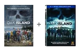 The Curse Of Oak Island Complete Season 1 2 DVD Set Series TV History Lo... - $47.51