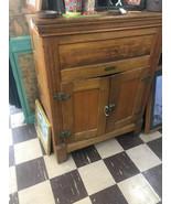 Antique Oak Ice Box - $1,250.00