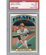 1972 Topps #72 Bruce Kison Pirates  PSA 8ST NM MT - $22.72
