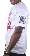 In4mation Hawaii Mens White Come and Get it Fearless Lady Killer T-Shirt NWT image 3