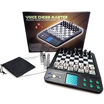 ICORE Electronic Talking Chess Computer Set, Magnetic Travel Voice Chess... - $63.39