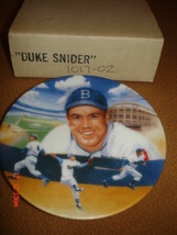 Duke Snider 1987 Sports Impressions Collector's Plate-LA Dodgers Pitcher Plate - $39.59