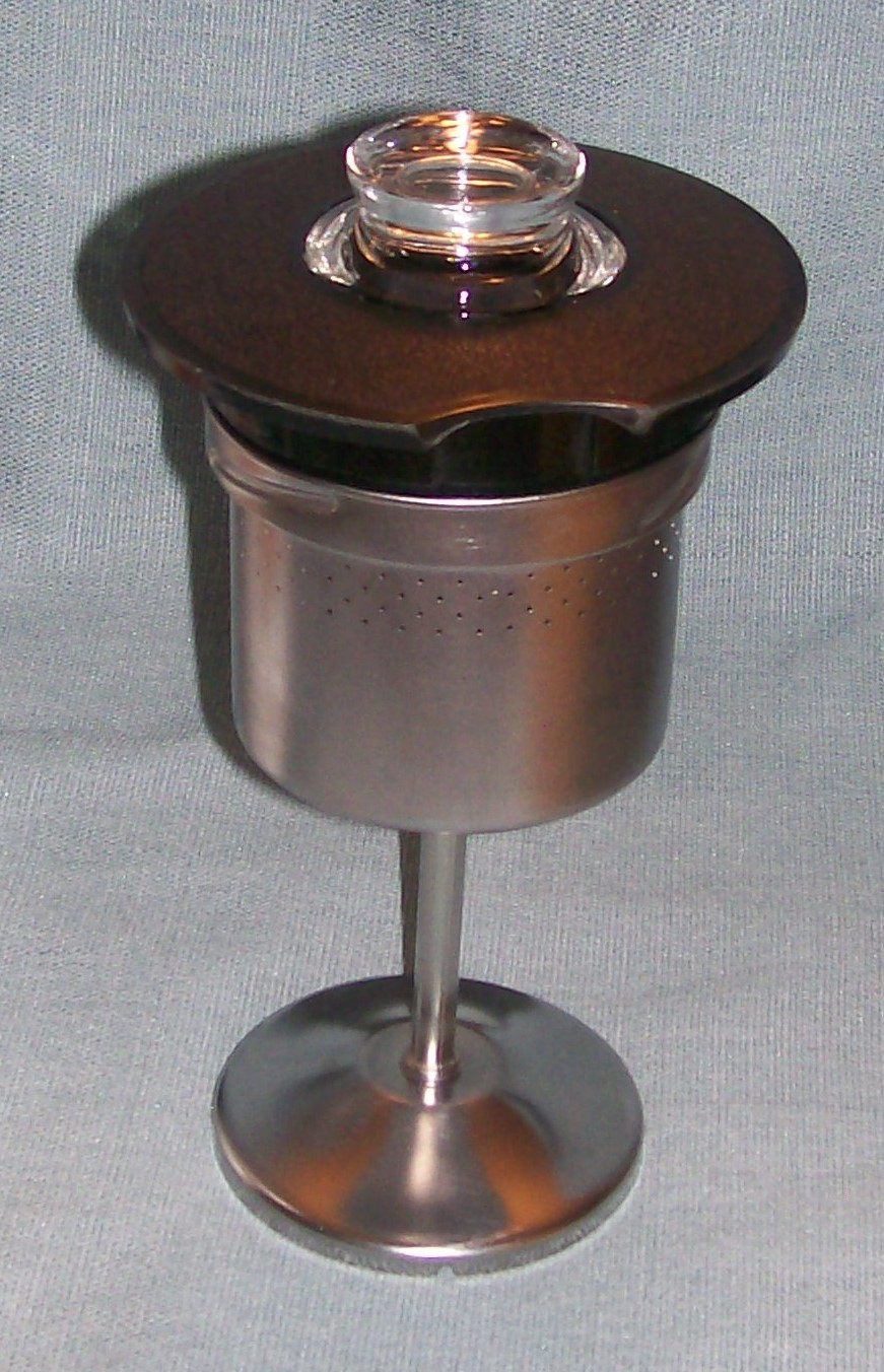 Vintage Corning SPICE OF LIFE Stove Top 6 Cup Coffee Pot / Percolator -P146 VGUC image 14