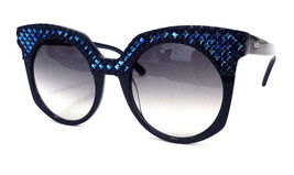 MCM Women's Sunglasses MCM643SR Blue 52-21-140 MADE IN ITALY - New! - $135.00
