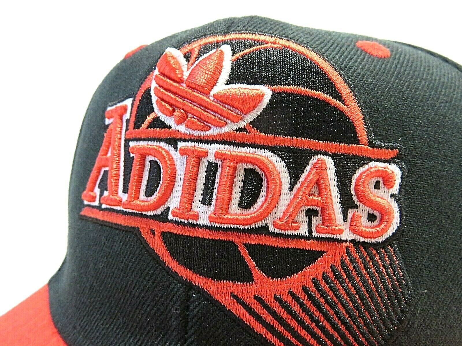 NWT ADIDAS Basketball Multi-Colored Adjustable Adult Strap Back Hat