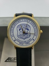 Vintage 1994 St. Louis District Golf Association Diamond Jubilee Watch New Box - $29.99