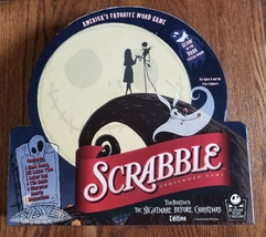 SCRABBLE TIM BURTONS NIGHTMARE BEFORE CHRISTMAS EDITION GAME 2007 SABABA... - $50.00