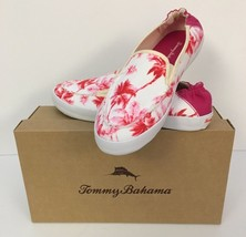 Tommy Bahama Ladies Slip On Canvas Shoes Size 8... - $39.59