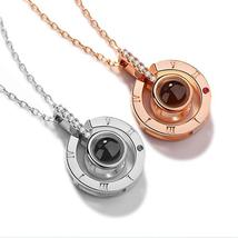 "XUFAN Romantic Projection (""I Love You"") Ladies Pendant - Various Styles, CZ image 1"
