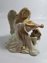 "MUSIC APPRECIATION"" ANGEL & CHERUB FIGURINE DREAMSICLES 1995 RETIRED (27) - $15.83"