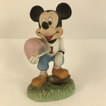 "Walt Disney Productions Mickey Mouse Football Player 6"" Figurine - $14.84"