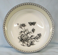Charter Club Tuilleries Cream Floral Butterfly Serving Bowl - $35.53