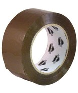 """Tan Hotmelt Packing Tape 2"""" x 110 Yards 1.6 Mil Shipping Packaging Tapes... - $19.38"""