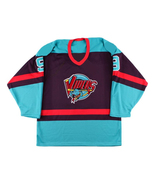 Any Name Number Detroit Vipers Retro Hockey Jersey Navy Blue Howe Any Size - $44.99