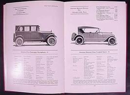 1925 Handbook of Automobiles Hand Book Auburn Buick Stutz Cadillac Hardc... - $78.21