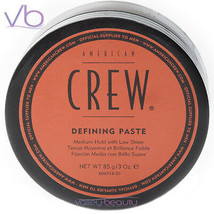 AMERICAN CREW (Defining Paste, Medium Hold, Low Shine, Hair Styling, Puc... - $12.00
