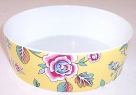 NEW Block Spal Izmir Yellow Floral Coupe Cereal Bowl, Rezzan Unver, Port... - $11.99