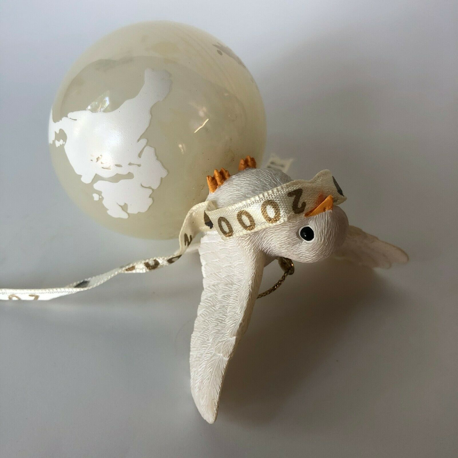 Dove Peace on Earth 2000 Ornament Charming Tails 862000 Fitz Floyd Dean Griff - $13.00