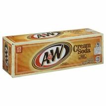 A&W Cream Soda 12 pack - $21.73