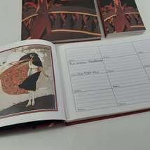 ART DECO WOMEN'S Collection Address Book Set includes Notebook / Birthday Book image 5