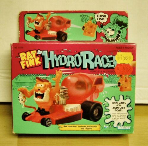 Primary image for Kenner #57250 Rat Fink Hydro Racer- Raw Jaw in his Rockin Roadster - Brand New