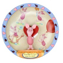 Disney Bradford Exchange Piglet 3-D Plate Some Days You Can't Hide Your ... - $32.21