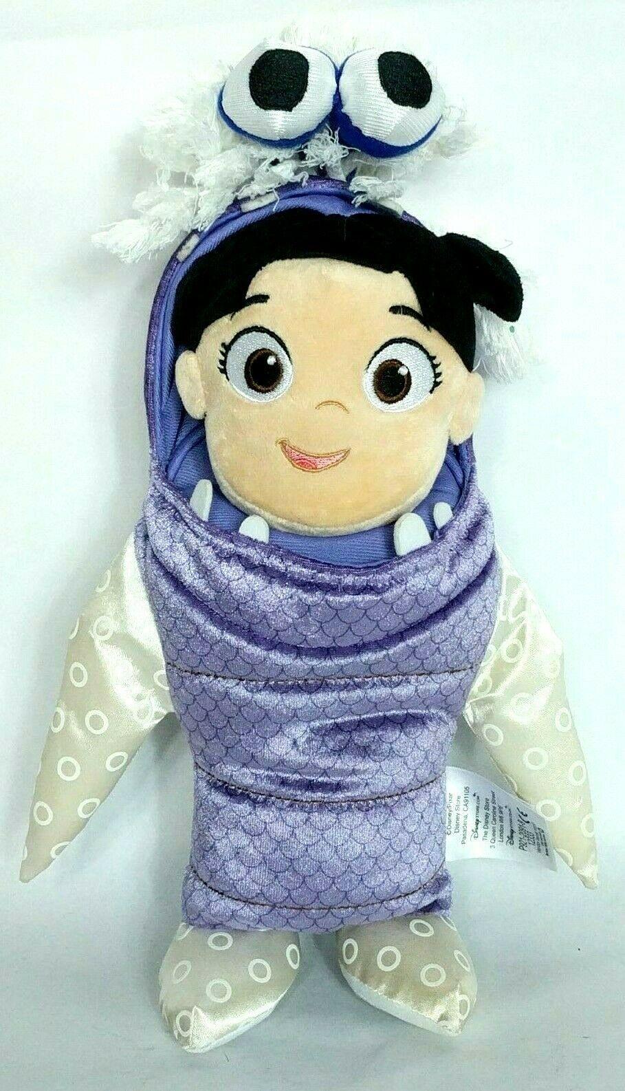 "Disney Store Pixar Monsters Inc Boo In Costume Plush Stuffed Animal 15"""