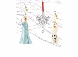 Lenox Disney Frozen Ornament Set of 3 Queen Els... - $60.00