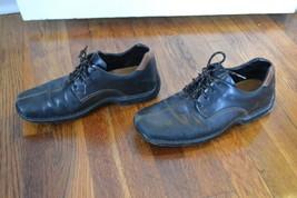 Cole Haan ZENO Lace Men's Leather Black Brown Casual Shoes Sz 9.5 M - $5.00