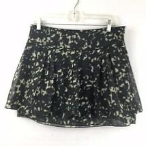Gap Women's Lightweight Gray & Green Multicolored Layered Bubble Skirt Size 2 - $25.25