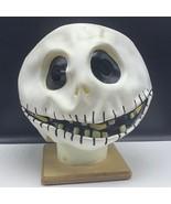Jack Skellington Halloween mask Nightmare before Christmas walt disney r... - $63.36