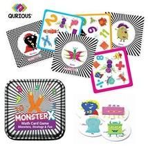 Qurious MonsterX | STEM Math Flash Card Game | Fun Super Monsters Teach ... - $25.25