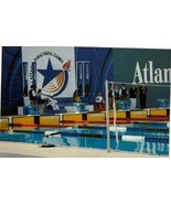 1996 Vintage Photograph Atlanta Georgia Paralympic Games Swimming Sports - $9.90