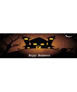 Halloween Banner H20-Digital ClipArt-Art Clip-Digital-Pumpkin-Bats-Ghost - $6.00