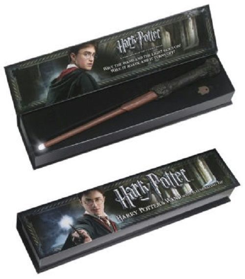 HARRY-POTTER-WAND-LIGHTED-COLLECTIBLE-MAGIC-FANTASY-MOVIE-WOOD-SHAFT-LIGHT-UP