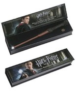 HARRY-POTTER-WAND-LIGHTED-COLLECTIBLE-MAGIC-FANTASY-MOVIE-WOOD-SHAFT-LIG... - $40.20