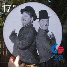 Laurel & Hardy No. 2 framed round poster - $19.00