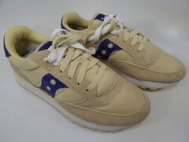 Saucony Jazz O Original S1044-389 Women's Running Shoes Size 7 M (B) EU 38 Cream