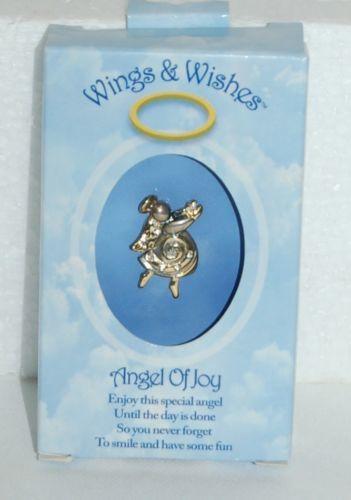 DM Merchandisings Wings Wishes Joy Angel Product Number WGW24-JOY