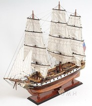 USS Constellation Tall Ship Yankee Racehorse Wo... - $729.95