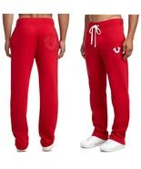 Mens True Religion Jeans Standard Logo Sweatpant Horseshoe Pocket Sweats... - $69.98