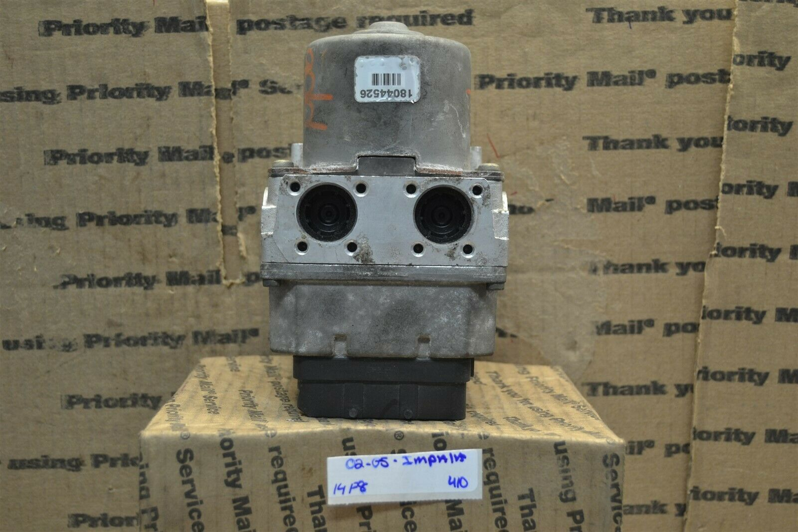 Primary image for 02-05 Chevrolet Impala ABS Pump Control OEM 18078136 Module 410-14F8