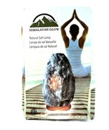 Himalayan Glow Natural Crystal Salt Lamp Grey Centered & Serene Dimmer R... - $19.79