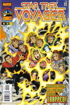 Star Trek: Voyager Marvel Comic Book #2, 1996 Near Mint - $2.99