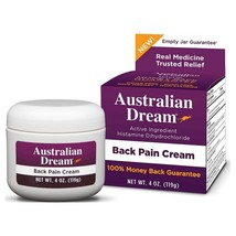 Australian Dream Back Pain Cream 4oz 2-Pack - $54.99