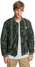 QUIKSILVER Men's Hakata Bay Bomber Jacket Camo Green SIZE LARGE or MEDIU... - $79.99